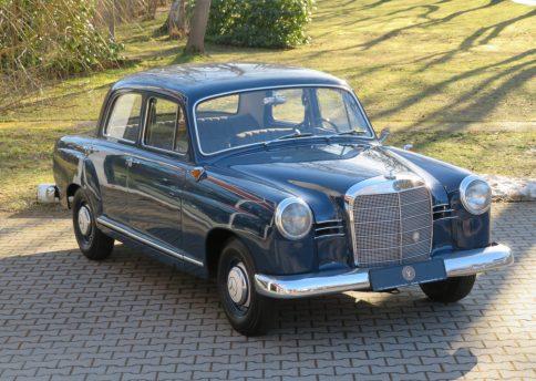 Mercedes Benz 180, W120 Ponton