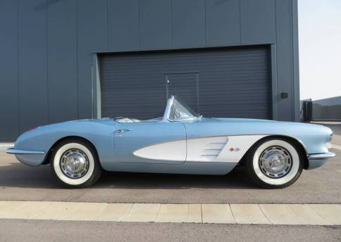 Corvette C1, V8
