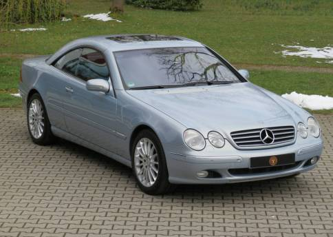 Mercedes Benz CL 500, W215