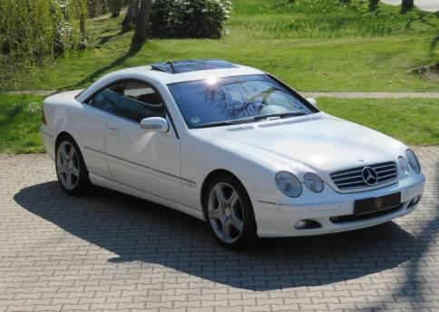 Mercedes Benz CL 600, W215