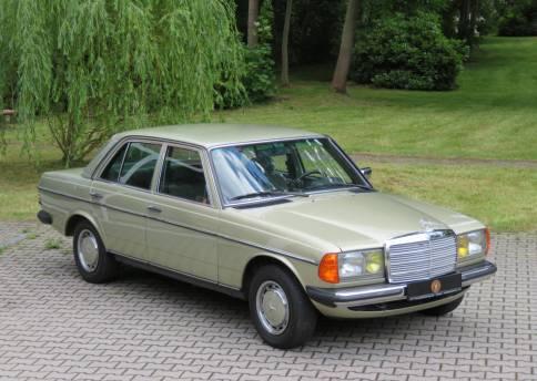 Mercedes Benz 300D, W123