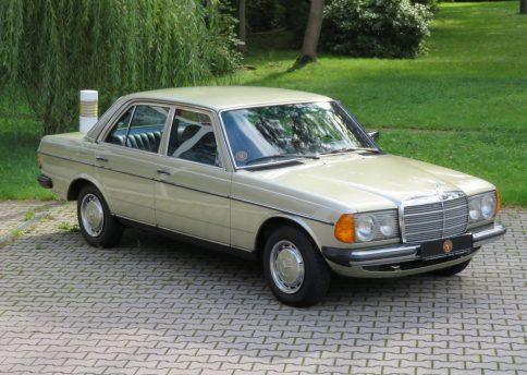 Mercedes Benz 300 D, W123